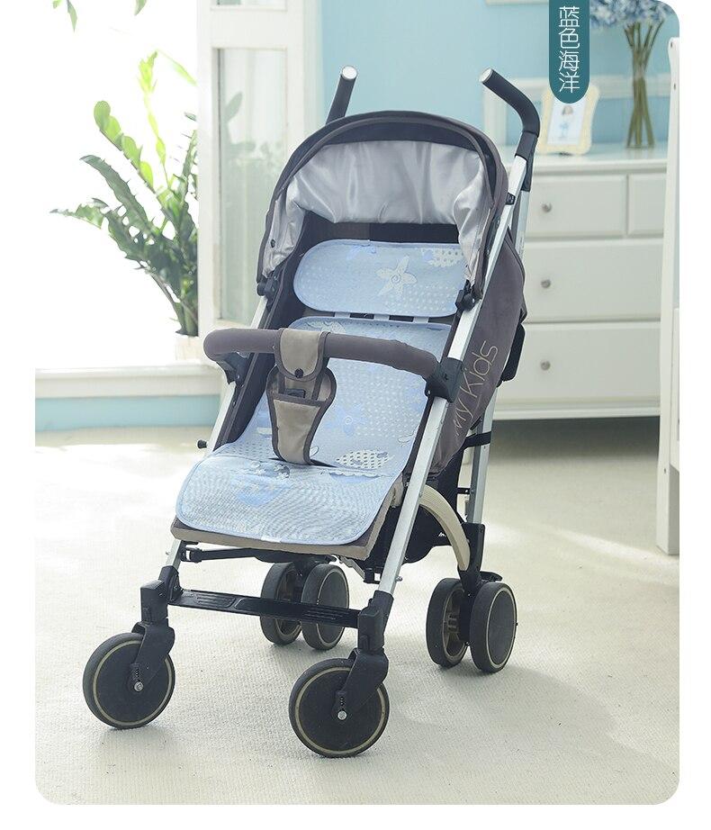 YDBB zomerijs zijden slaapmat voor pasgeboren babyhandkar of - Beddegoed - Foto 1