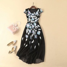 9e904cf5fa036 Buy embroidered mesh dress and get free shipping on AliExpress.com