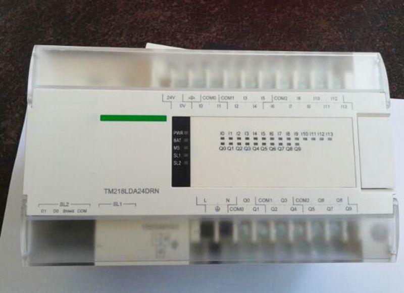 PLC Controller TM218LDA24DRN Original New in box c500 bat08 plc controller battery
