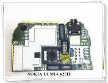 все цены на Russia language Original Motherboard For Nokia Lumia 625 625h Free Shipping онлайн