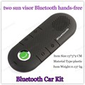 mini car-styling Bluetooth MP3 Player two sun visor fine clip hands-free intercom system with multi-functional car charger