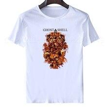 Футболка с изображением призрака в Ракушке, популярная японская футболка Кусанаги, Мотоко, футболка «сделай сам» с изображением самостоятельного сложного противовирусного взлома, в стиле хип хоп, XXXL