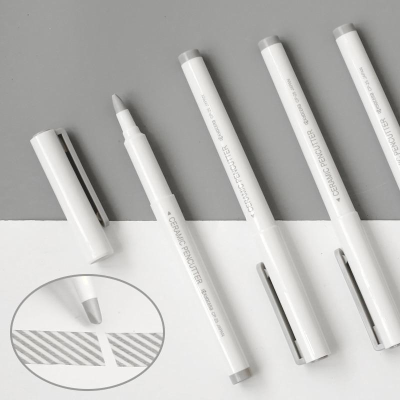1PC Japan Stationery OHTO Pen Type Ceramic Knife Creative Artist Knife  Imported KYOCERA Blade
