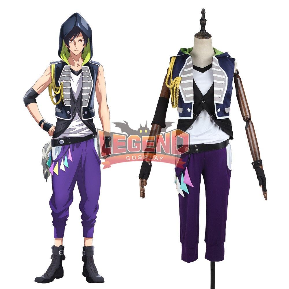 Anime B-project Ambitious Kaneshiro Goushi Cosplay Costume Coat adult costume halloween costume custom made full set