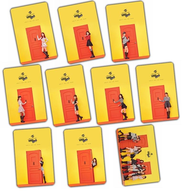 [MYKPOP]TWICE COASTER LANE 2 Photo Album Crystal Sticker KPOP Items 10pcs/set SA18052006