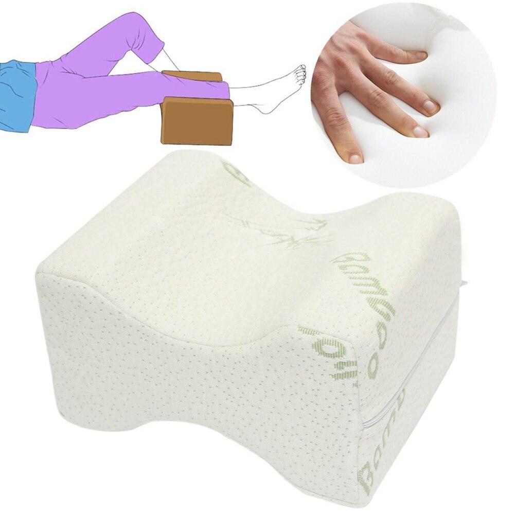 Memory Foam Knee Leg Pillow Bed Spacer Cushion Wedge Pressure Relief Sleep Aid