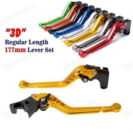 CNC 6 Position 3D Long Brake Clutch Lever for SUZUKI Bandit 1250/S 2007 2008 2009 2010