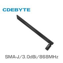 TX868-JKD-20 868 МГц SMA-J интерфейс 50 Ом Сопротивление менее 1,5 КСВ 3.0dBi усиления Высококачественная всенаправленная антенна