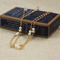 1 Pc Couleurs Clair Perlé Lunettes Cordon Lecture Verre Cou et Naturel perles Titulaire Sangle De Lunettes Cordon Lunettes Strapv YJ013