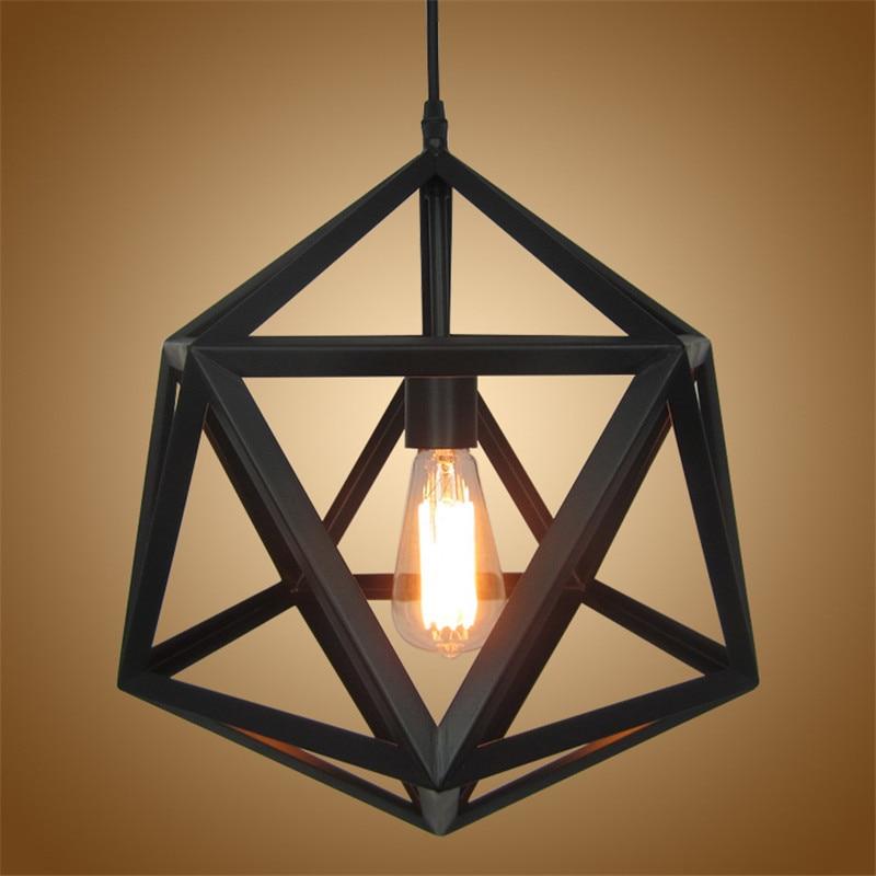 Industrial Loft Style Pendant Lights Matte Black Iron Cage Vintage Pendant Lamp for Edison Bulb Lampfair E27 часы nixon corporal ss matte black industrial green