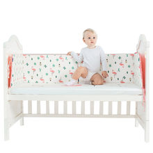 601d932b962 Newborn Crib Bumper Bed Baby Cot Knotted Crib Bumper Protection for Baby  Bed Infant Bedding Bumper Safe Baby Decoration Room
