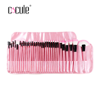 Cocute 32 Pcs Set Professional Makeup Brushes Face Powder Foundation Eyeshadow Blush Brush Set Cosmetic Tools