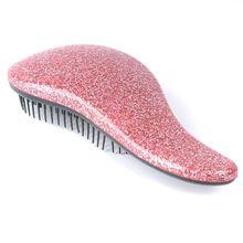 Glitter Handle Tangle Detangling Comb Shower Hair Brush detangler Salon Styling Tamer Tool hairbrush