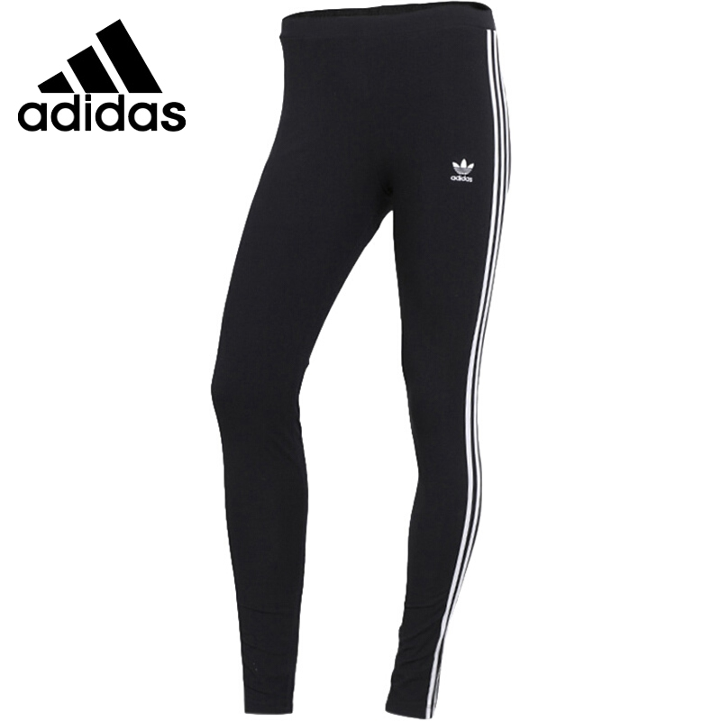 Original New Arrival 2018 Adidas Originals STR TIGHT Women's Pants Sportswear adidas original new arrival official women s tight elastic waist full length pants sportswear aj8153