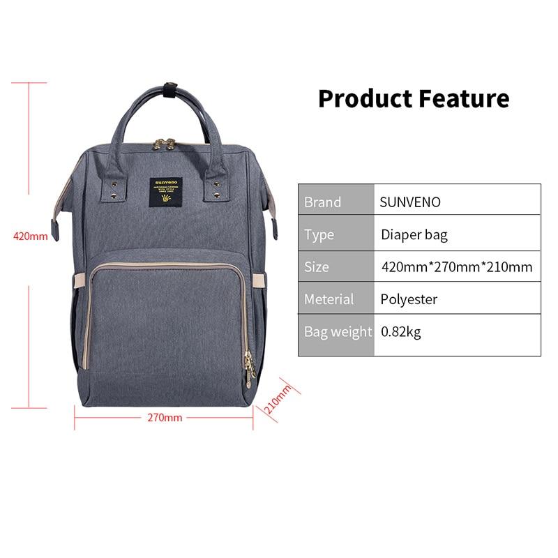 Bag Nappy Travel Large