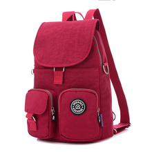 Jinqiao Er waterproof nylon shoulder bag fashion casual backpack female multifunction
