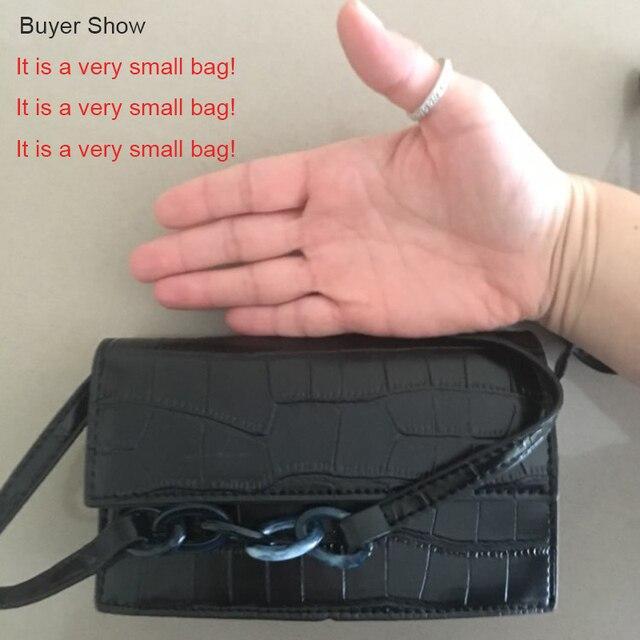 Mini Stone Pattern Crossbody Bags For Women 2020 Pu Leather Purses and Handbags New Designer Ladies Shoulder Messenger Bag 5