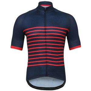 Image 1 - Crossrider Maillot clásico de manga corta para hombre, Ropa de Ciclismo de montaña, uniforme, 2020