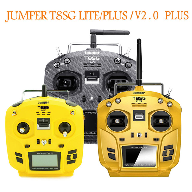Jumper T8SG Lite / V2.0 Plus Transmitter Remote Control For Frsky RC Drone Multicopter Spare Part Accessories Mode 1 / Mode 2