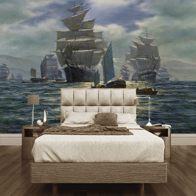 Photo Wall Murals Wallpaper 3D Classic Painting Background 3D Wallpaper Living Room Aisle Hotel TV Wall Study Hoom Decor Murals bacaz painting white lotus flower murals 5d papel murals for living room sofa background wallpaper 3d photo murals wall paper