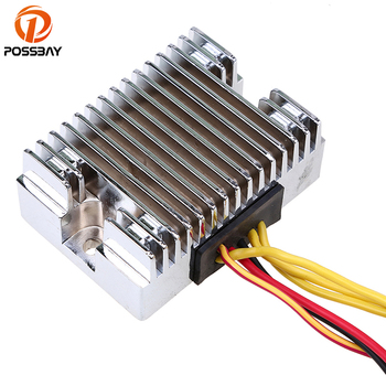 POSSBAY Motorcycle Voltage 12V Regulator Rectifier fit for Polaris Sportsman 400 2011-2014 4012192 Motocross Scooter Rectifiers