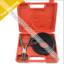 UTOOL Piston Ring Compressor Cylinder Installer Ratchet Pliers 13pcs bands Tool Set 62~145mm