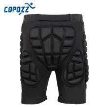 Copozz Total Impact Hip Pad Unisex Light Skateboard Snowboard Ski Padded Shorts & Pants Protection Gear
