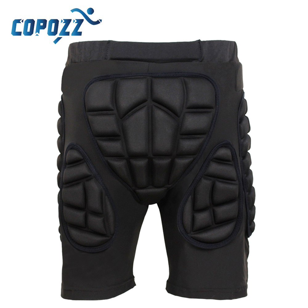 Copozz Total Impact Hip Pad Unisex Light Skateboard Snowboard Ski Hip Padded Shorts & Pa ...