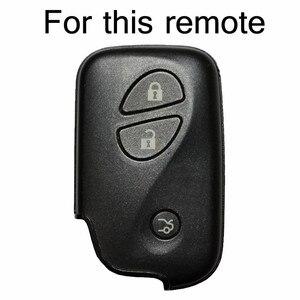 Image 2 - レクサスはIS250 GS300 IS220 LS460 RX350 RX450h CT200hシリコーンremoteキーケースfob shellカバージャケットスリーブ 3 ボタン