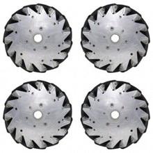 6 дюймов) 152 мм набор алюминиевых Mecanum колес(4 шт.) 14101/колесо для соревнований роботов
