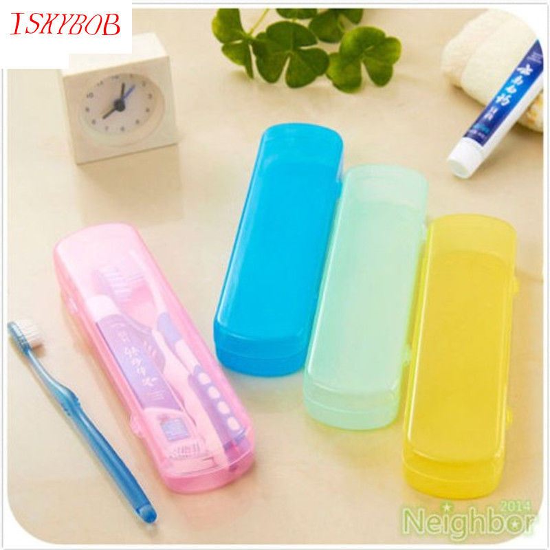 цена Good Useful Travel Portable Toothbrush Toothpaste Storage Box Cover Protect Case