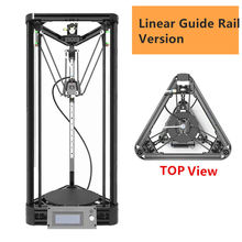 Guia Linear Kossel Delta Impressora 3D Impressora 3D DIY Kit Auto nivelamento Rostock Impressora 3D