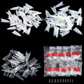 500 Шт. Stilettos Sharp Nail Art Акриловые Ложные nail Совет Белый/Очистить/Природные Выбрать
