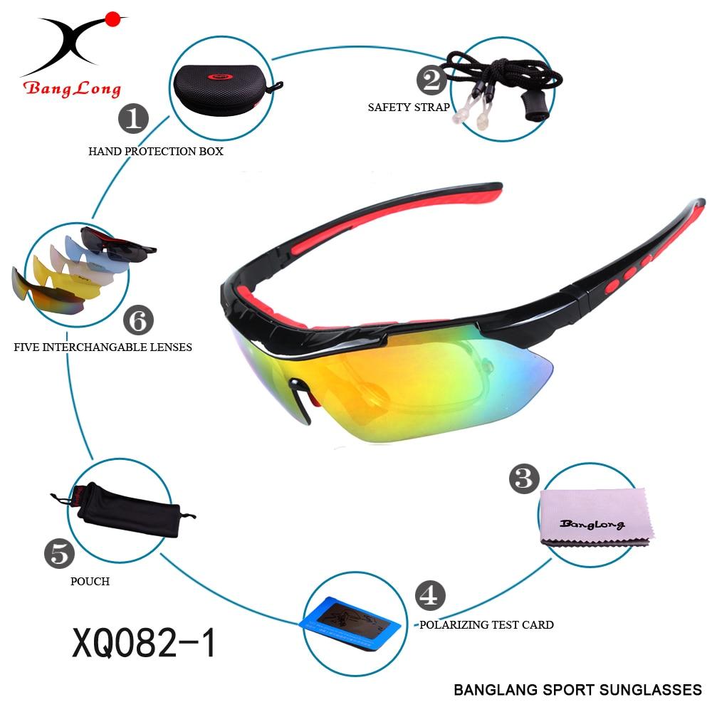 61967c6060 BANGLONG tactique polarisées lunettes de pêche hommes lunettes de soleil de  sport en plein air myopie lunettes de sport Camping, randonnée, cyclisme ...