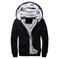 뜨거운 판매 남성 후드 캐주얼 브랜드 후드 의류 울 라이너 남성 겨울 따뜻한 코트 남성 M-4XL 스웨터 착실히 보내