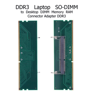 Image 2 - DDR3 Laptop SO DIMM to Desktop Adapter DIMM Memory  Converter Adapter Card
