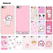 Babaite Cute cat Marie aristochats TPU Soft Silicone Phone Case Cover for Apple iPhone 8 7 6 6S Plus X XS MAX 5 5S SE XR Cover babaite van gogh tardis tpu soft silicone phone case cover for apple iphone 8 7 6 6s plus x xs max 5 5s se xr mobile cover