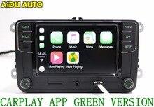 AIDUAUTO Carplay Noname RCD330 RCD330G Plus Radio luz de Fondo Verde Para Skoda Octavia fabia 6RD035187B 6RD 035 187 B
