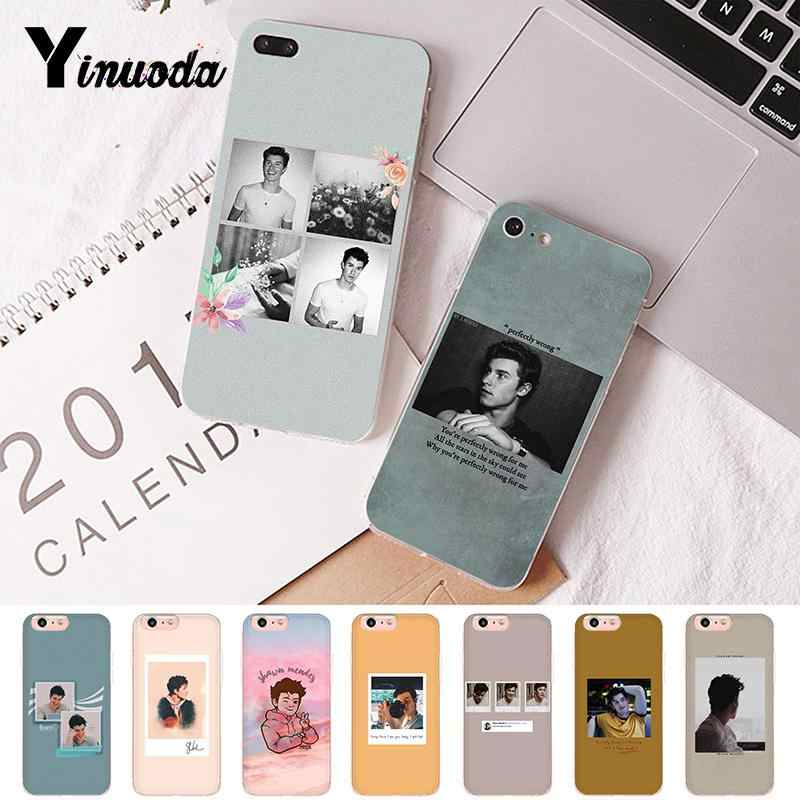 Yinuoda Shawn Mendes Novelty Fundas Phone Case Cover for iPhone 8 7 6 6S Plus X XS MAX 5 5S SE XR 10 Cases Fundas Capa