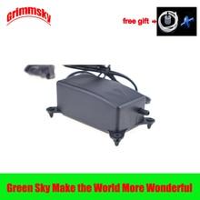 2W EU Plug Flow 1.2L/Min Fish Tank Oxygen Increasing High Performance Noiseless Small Ultra Silent Air Pump Aquarium Compressor