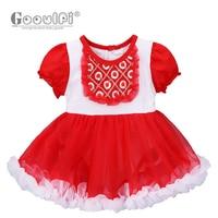Gooulfi Baby Girl Dress Christening Baby Dresses Girls' Baby Clothing Kids 1 Year Baby Girl Birthday Dress