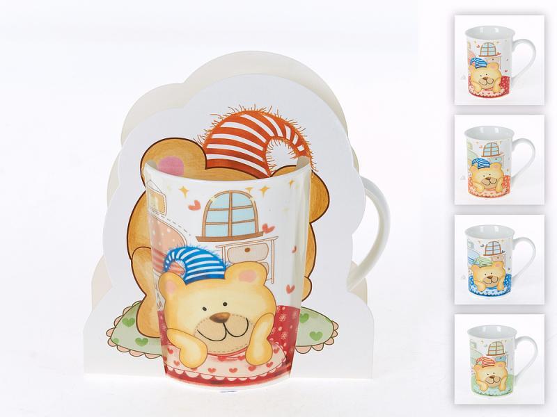 Mug Best Home Porcelain, Cute bear, 226 mL 38 38 38cm best quality wholesale plastic remote control colorful indoor outdoor home garden pot vc f3838