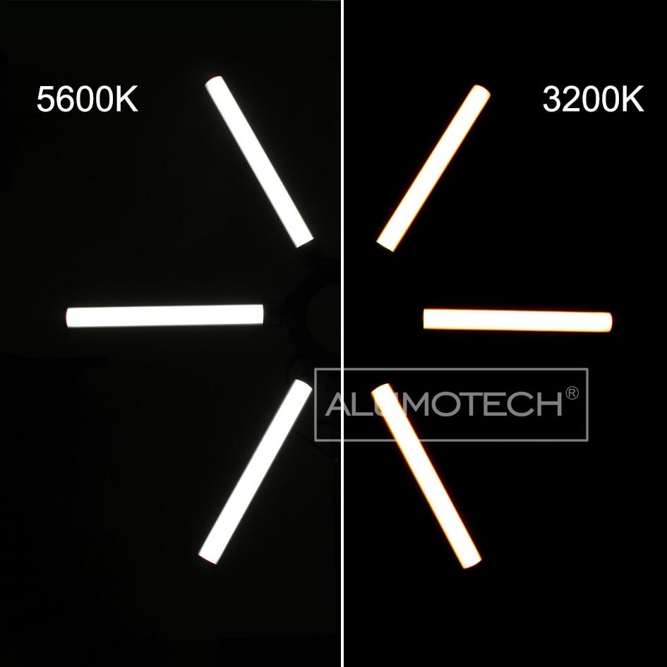 Alumotech 3 Color Temp. DMX512 Lumina led 90W pentru camera video de - Camera și fotografia - Fotografie 6