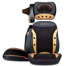 Dispositivo de masaje de todo el cuerpo silla de masaje eléctrico barato sofá relax rodillo masajeador Muscular cojín glúteos matmassage silla