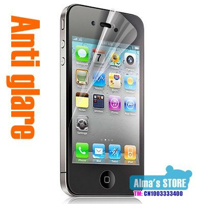 Hot sale Anti glare screen protector 100pcs for iPhone 4 screen protector,screen guard