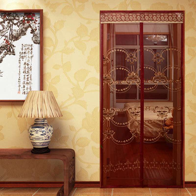 Anti Mosquito Net Screen Summer Magnetic Fly Curtain for Door Insect Automatic Closing Kitchen Mesh Curtains mosquitera puerta