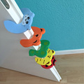 5pcs Door Stopper Animal Baby Security Card Protection Tools Baby Safety Gate Products Newborn Care New 2015  -- BYA011 PT15