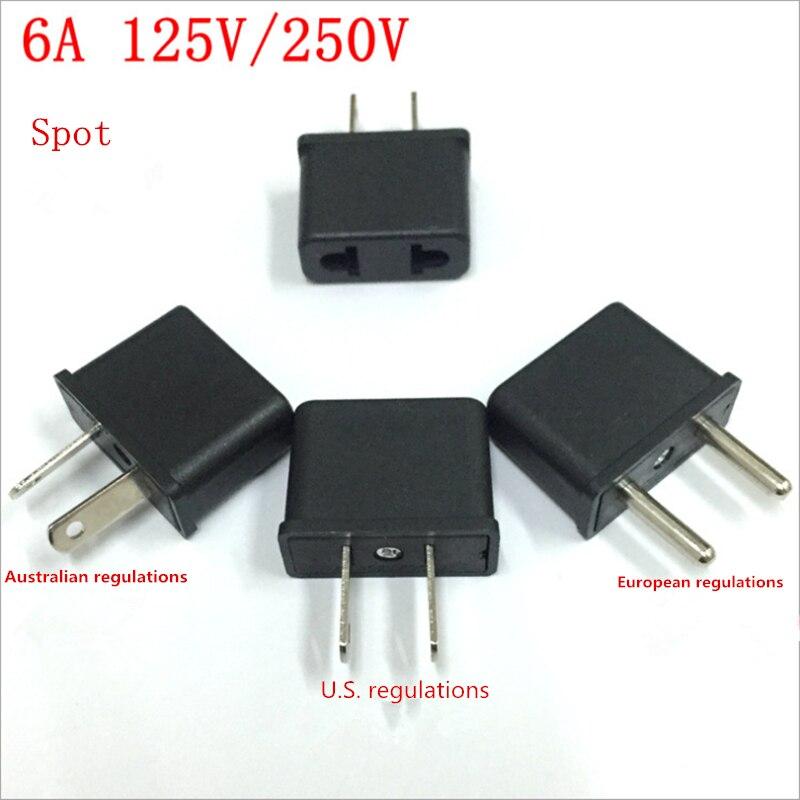 BTY US to EU , EU to AU , US to EU AC Power Plug Travel Converter Adapter Household Plugs