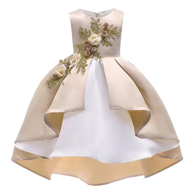Kids Dresses For Girls Elegant Princess Dress Flower Girls Dresses For Party and Wedding Dress Summer Children Clothes 2-10 Year