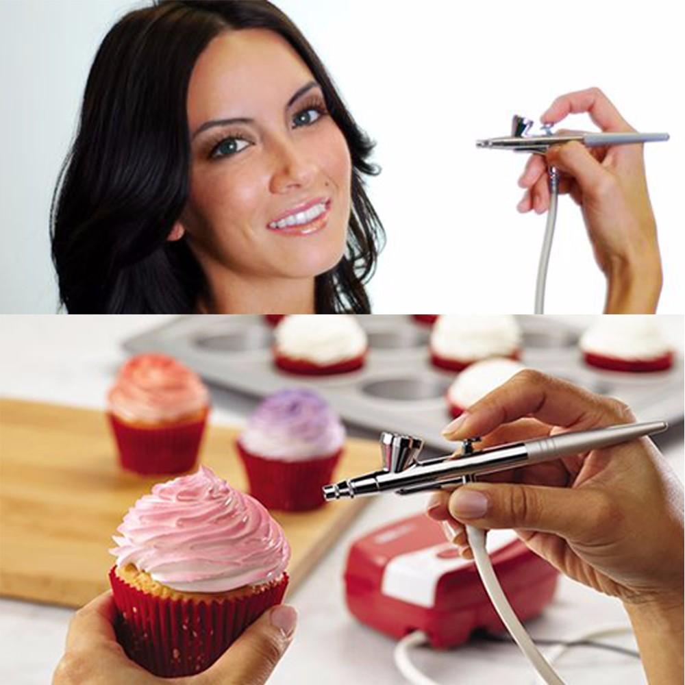 airbrush makeup cake decoration